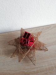 Stern Körbchen Weihnachtsdeko