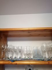 24 Kristall Gläser im Set