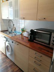 Küchenzeile birke Singleküche