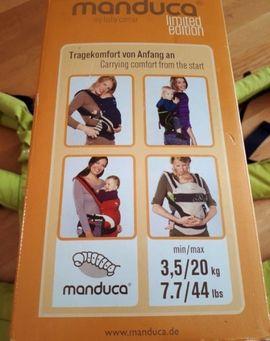 Manduca Babytrage Limitierte Auflage lime: Kleinanzeigen aus Feldkirchen - Rubrik Baby- und Kinderartikel