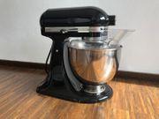 Kitchen Aid Küchenmaschine Artisan schwarz
