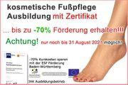 Fußpflege Ausbildung Gel Modellage Fuß