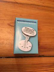 Lustiger Waschbeckenstöpsel Machen wie neu