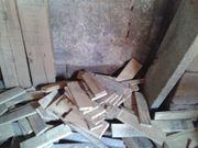 Brennholz - Reste - Bretter - Rundhölzer - Latten