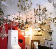 Kronleuchter antik alte Lampen Jugenstil