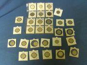 30 Stück Münzen Silber 2