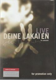 DVD - Deine Lakaien - Live In