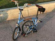 Brompton M3R Folding Bike LAGOON