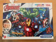 Kinderpuzzle Marvel Avenger s