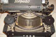 Historische Torpedo Schreibmaschine