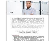 Bauzeichner Bautechniker Facility Manager m