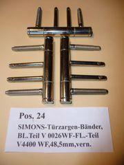SIMONS-Türzargen-Bänder BL-Teil V0026 WF FL