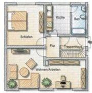 2 Zimmer Erdgeschosswohnung mit Gartenteil