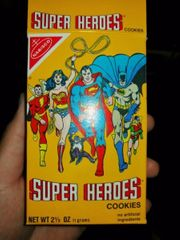 Original Nabisco - Super Heroes Cookies