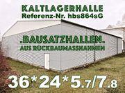 Lagerhalle Stahl-Leichtbauhalle 36x24x7 8m Stahlhalle