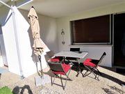 Terrassengarnitur Balkonmöbel - Klappbar - Rattan - Tisch