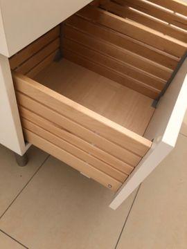 Waschtisch Unterschrank IKEA Gogdmorgon weiß: Kleinanzeigen aus Darmstadt Bessungen - Rubrik Bad, Einrichtung und Geräte