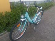Fahrrad Browser für Mädchen türkis