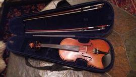 Bild 4 - schöne halbe Geige mit Kasten - Illingen
