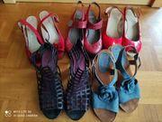 Schuhe Sandalen Gr 41 Gabor