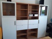 IKEA Besta Wohnwand Wohnzimmerschrank Schrankwand