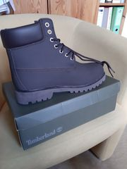 Braune Timberland Boots in Größe