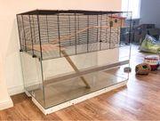 Hamsterkäfig komplettes Zubehör L 100cm