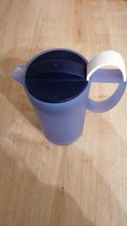 Milchaufschäumer von Tupperware in blau