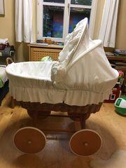 Stubenwagen xxl Korbstubenwagen Babystubenwagen groß