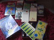 Karton Kinderbücher Pferdebücher Puzzel Spielesammlung