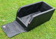 Hunde-Transportbox für Autorücksitz