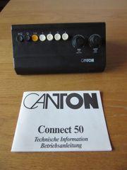 CANTON Connect 50 - Umschalt-Einheit bis