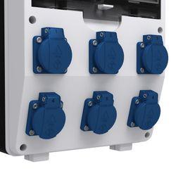 Bild 4 - Stromverteiler pTD-S 6x230V mit 1F - Kitzingen