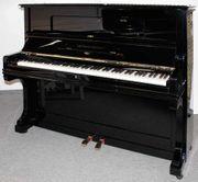 Klavier Grotrian-Steinweg 120 schwarz poliert