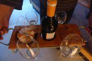 Weinflaschenhalter -wine tray-