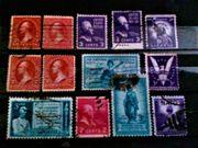 Alte USA Briefmarken