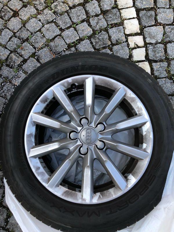 Original Audi Q3 Alufelgen Sommerreifen