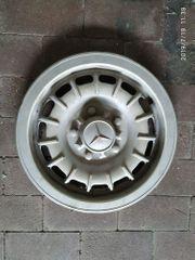 alte Radkappe Mercedes Benz
