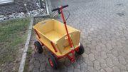 Bollerwagen Pinolino mit Handbremse
