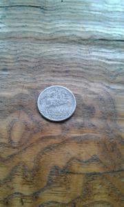 Münze 1945 spanien