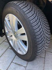 VW ALUFELGEN 16 mit KLEBER
