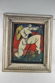 Christian PESCHKE 1946-2017 Gemälde Akt