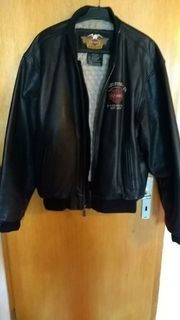 Bikerjacke Leder Harley Davidson