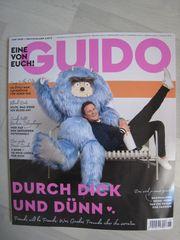 NEU ungelesen Zeitschrift GUIDO Juni