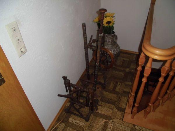Spinnrad - Fluorn-winzeln - Spinnrad historisches antiquitarische Dekoration - Fluorn-winzeln