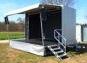 Mobile Bühne Bühnenanhänger Stagemobil zu