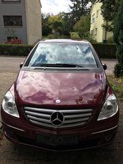Mercedes B170 mit LPG Anlage