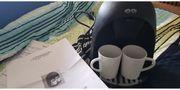 2 Personen Kaffeemaschine De Sina