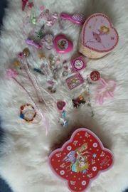 Prinzessin Lillifee Schmuckkästchen befüllt Perlenset