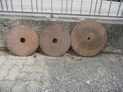 3 ältere Kreissägeblätter
